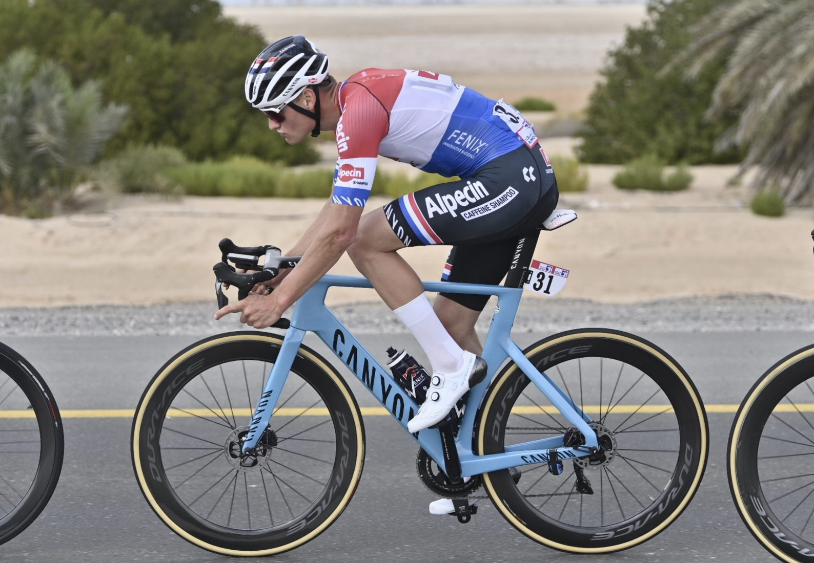 La Alpecin-Fenix si ritira all'UAE Tour per un caso di Covid