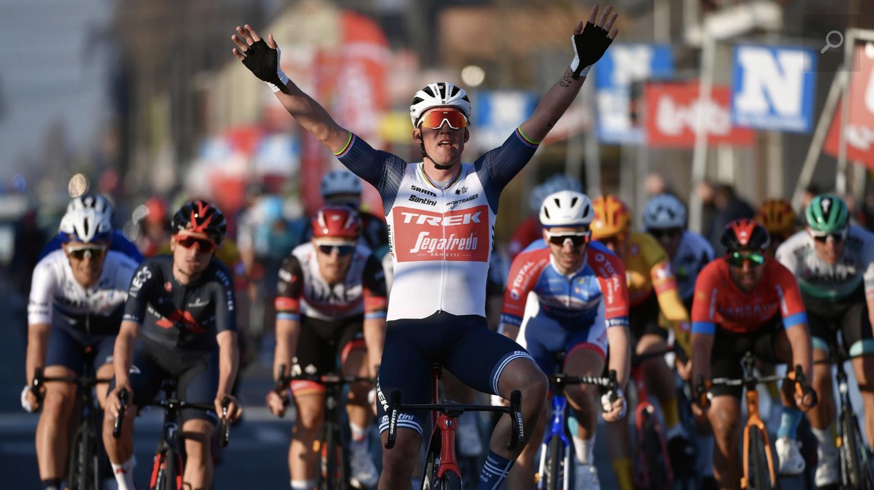 Mads Pedersen vince la Kuurne-Bruxelles-Kuurne