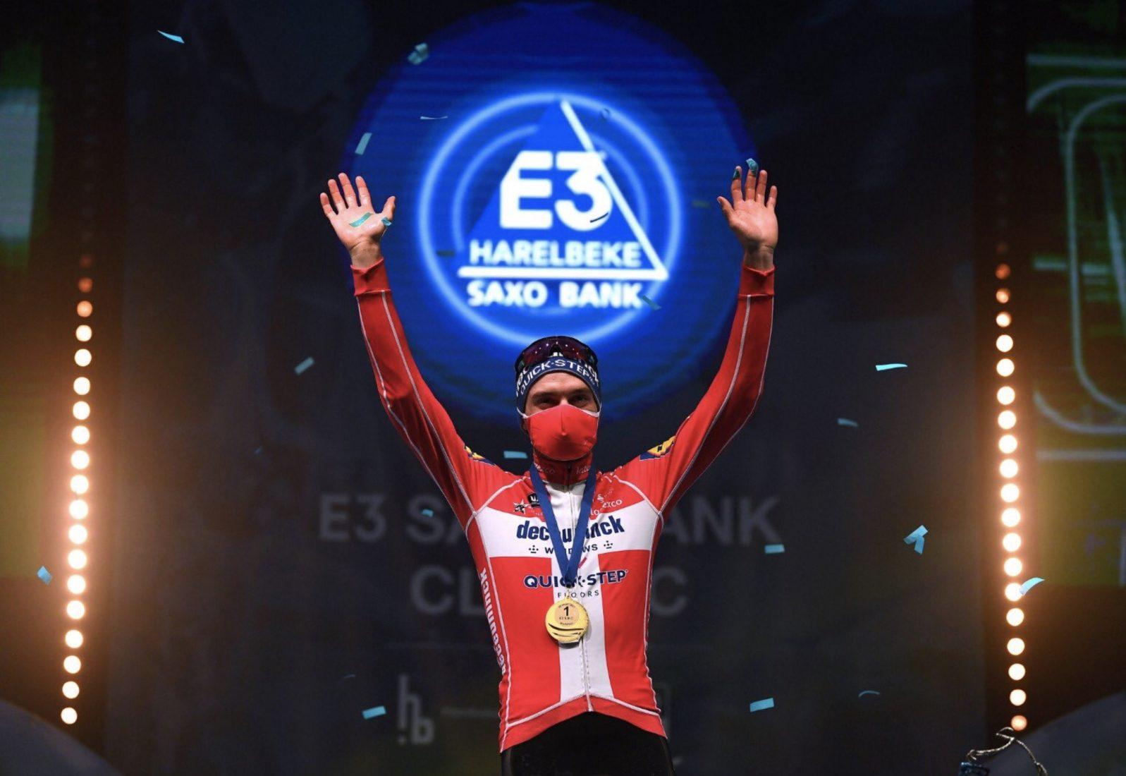 Kasper Asgreen ha vinto la E3 Harelbeke