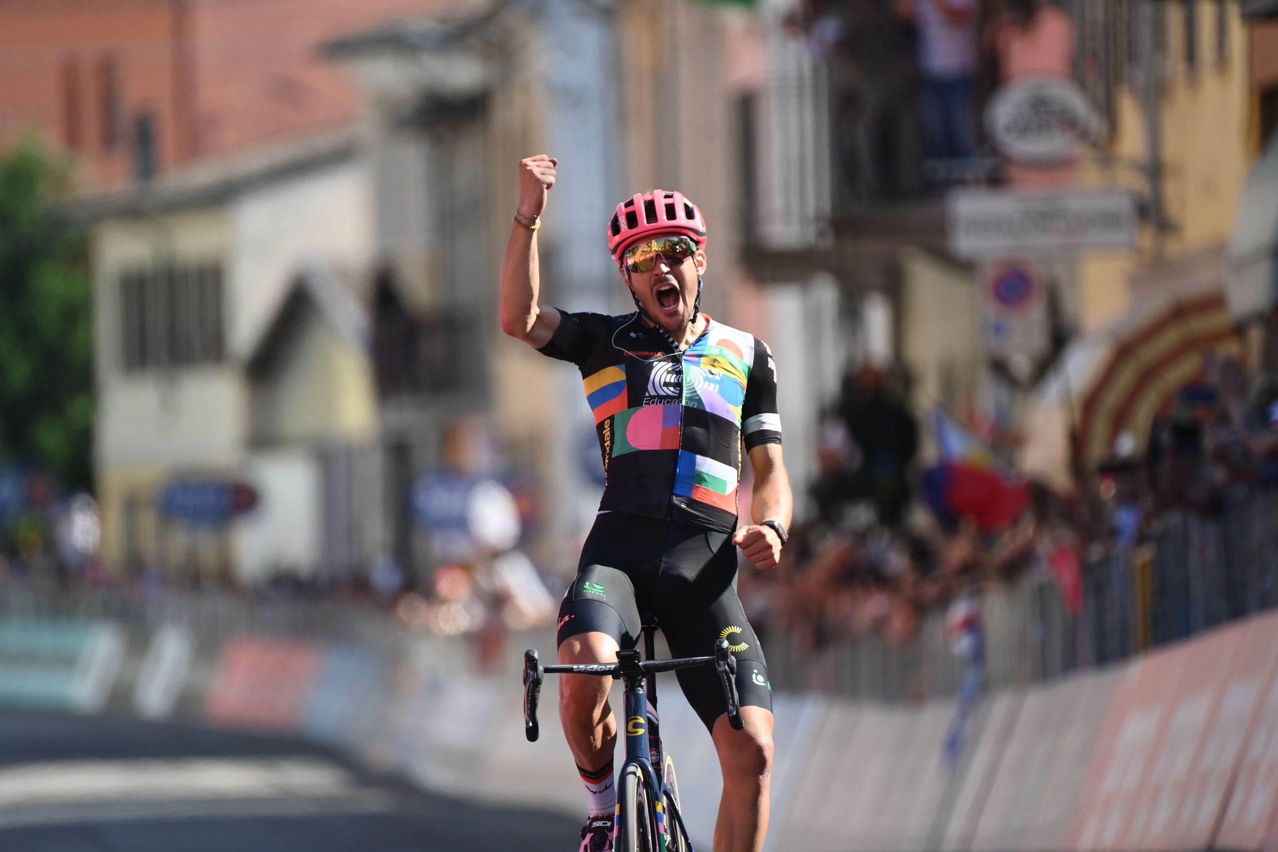 Giro 2021: Alberto Bettiol vince la 18^ tappa