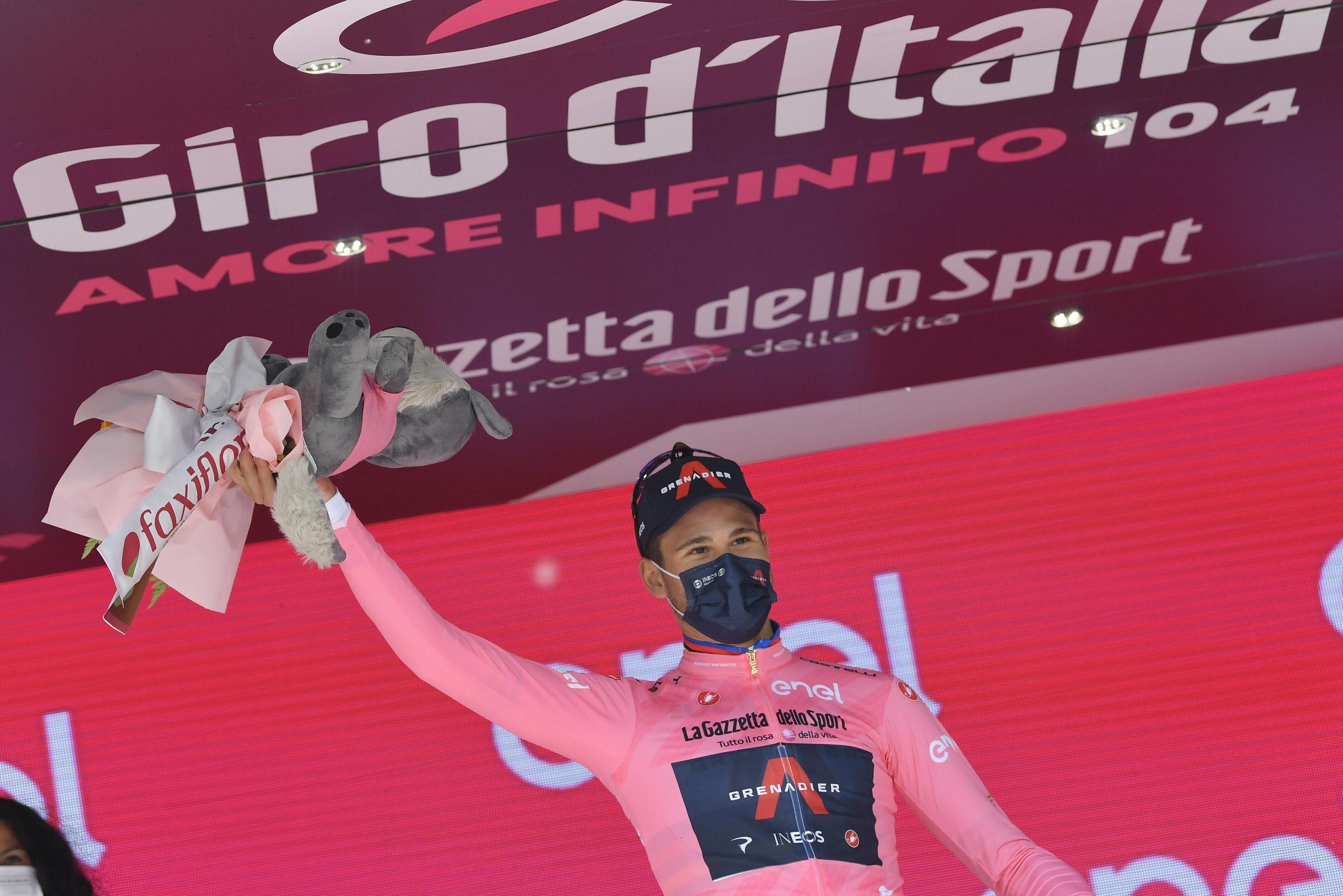 Giro 2021: Filippo Ganna vince la prima tappa ed è la prima Maglia Rosa