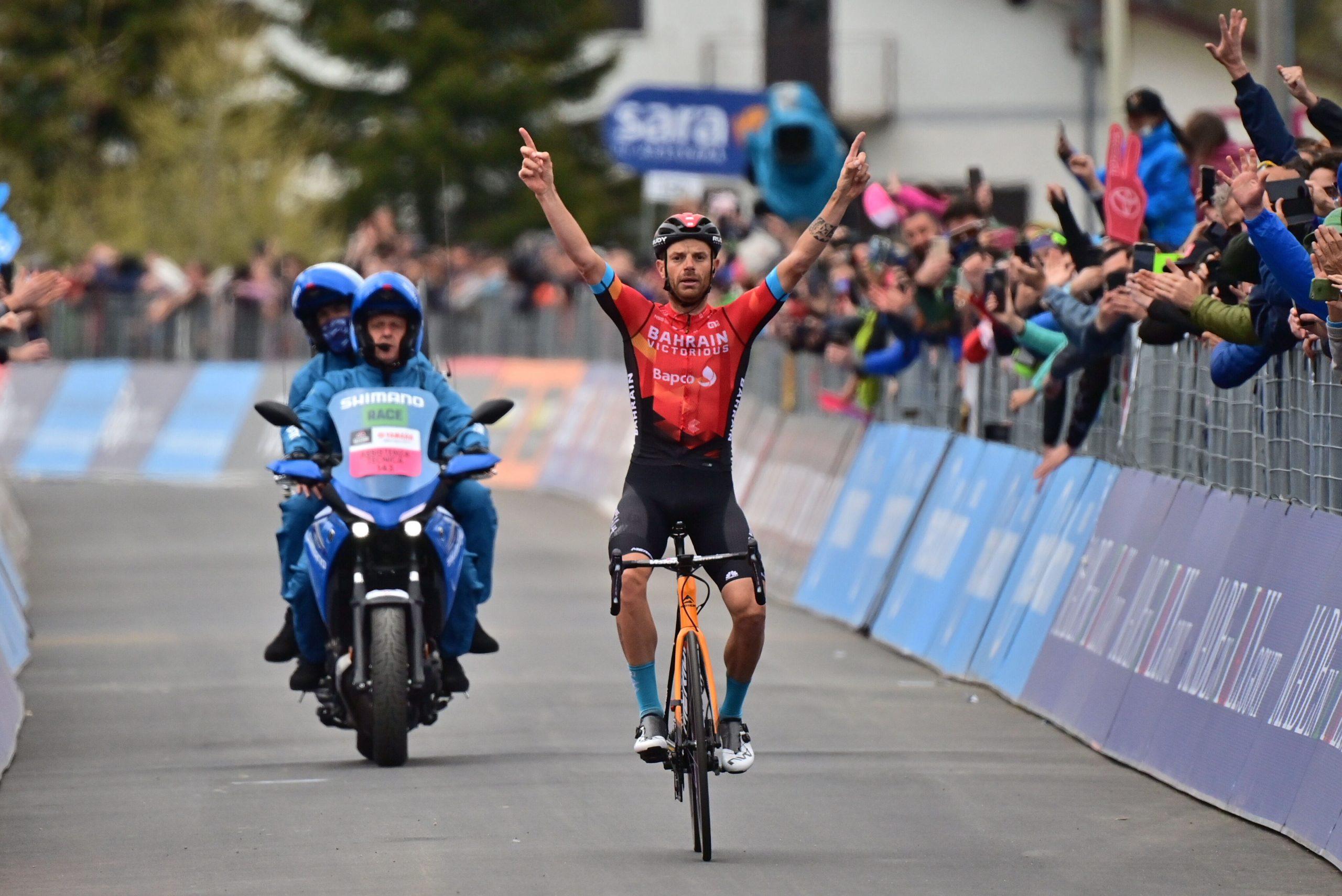 Giro 2021: Damiano Caruso vince la 20^ tappa