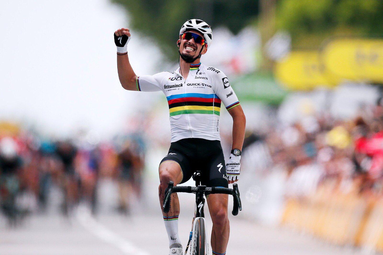 Tour de France 2021: Prima tappa ad Alaphilippe