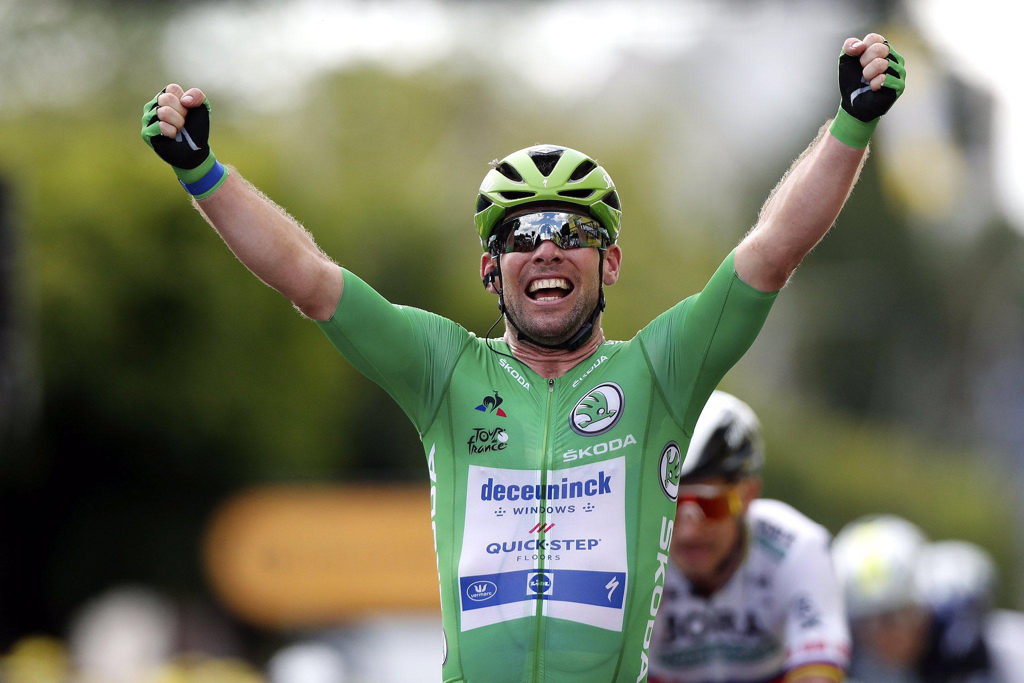 TdF 2021:  Mark Cavendish vince la 6^tappa e fa 32