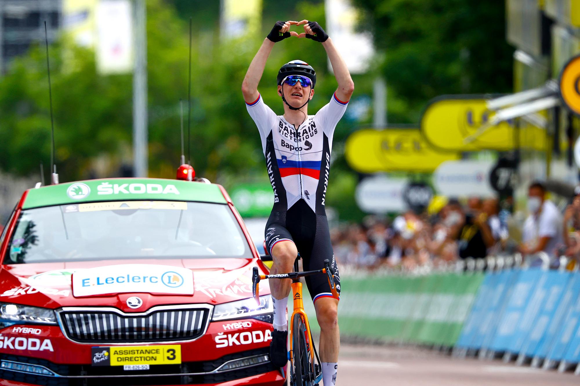 TdF 2021: Matej Mohoric vince la 7^ tappa
