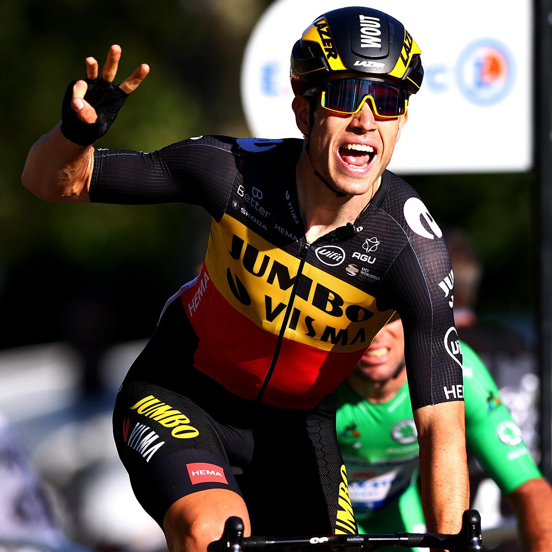 TdF 2021: Van Aert chiude il Tour con la vittoria sugli Champs-Elysées