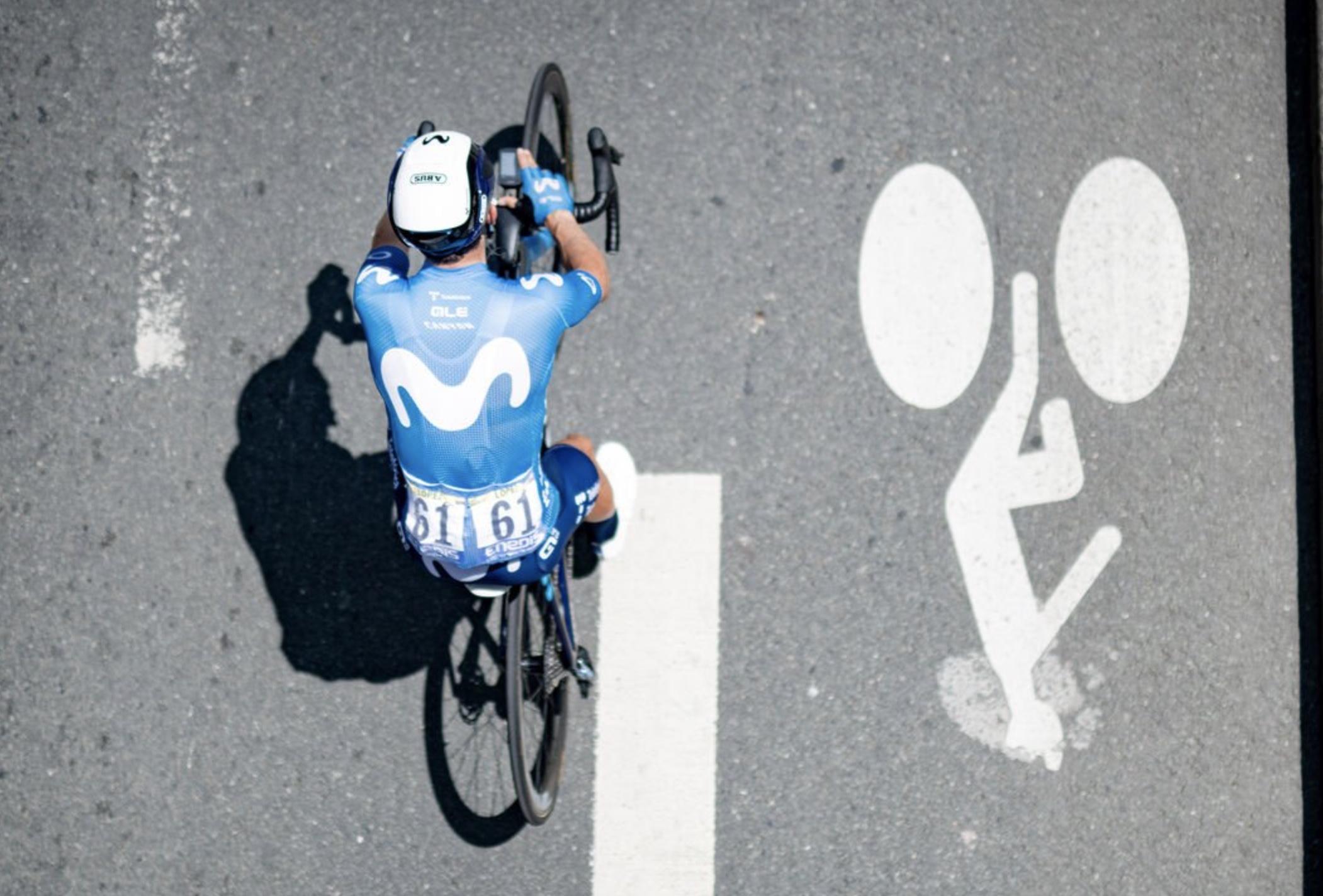 Vinci con Canyon un kit del Team Movistar
