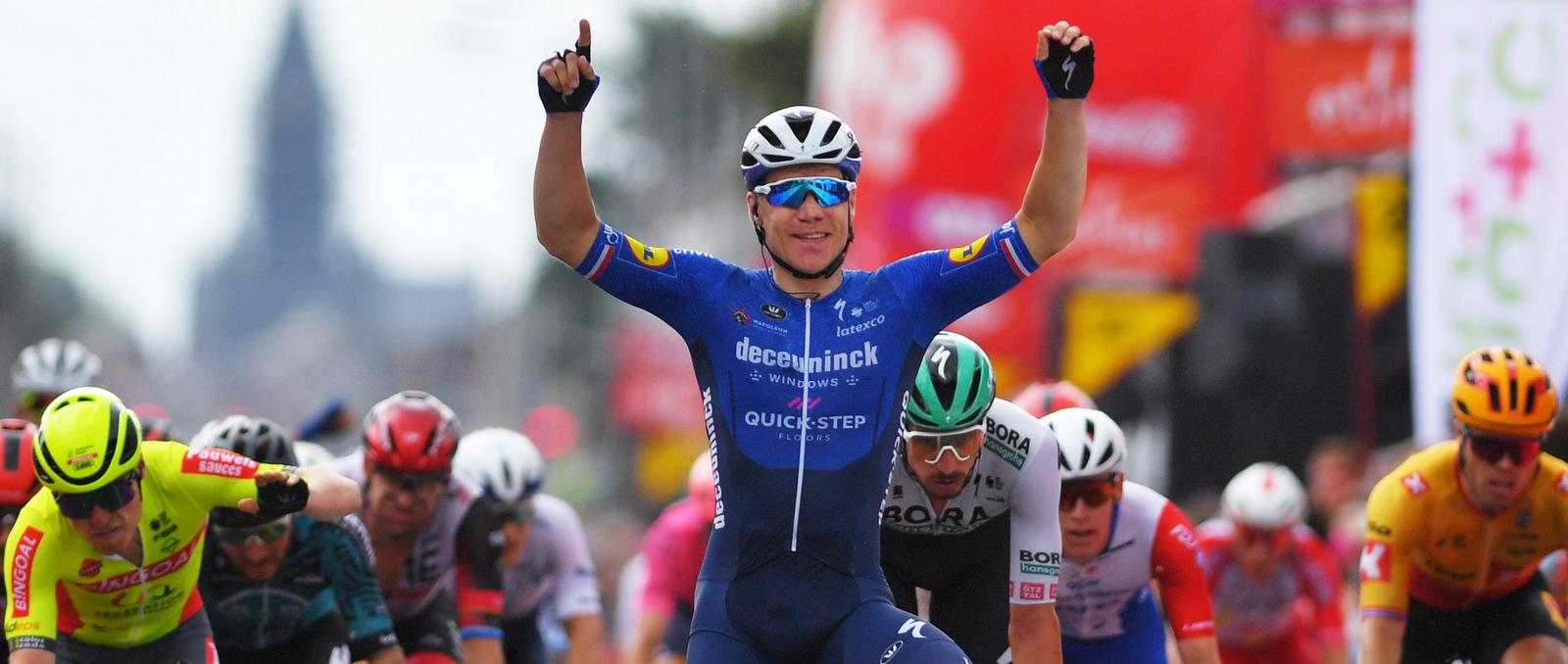 Vuelta 2021: Fabio Jakobsen vince la 4^ tappa