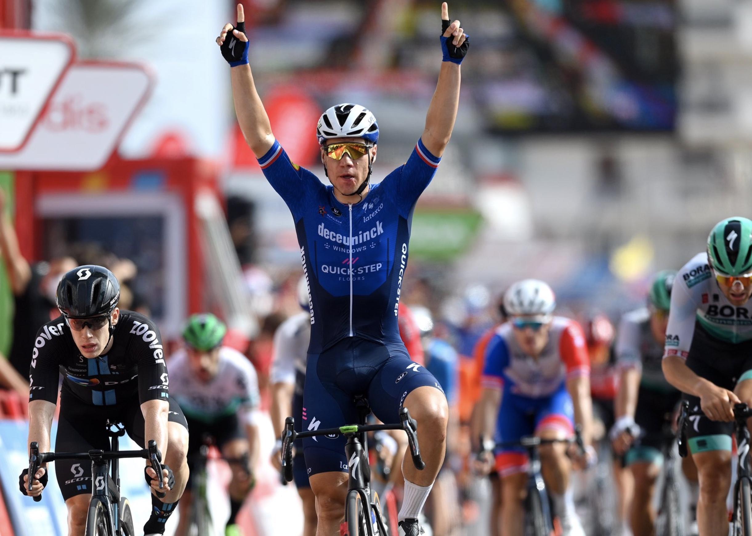 Vuelta 2021: Jakobsen vince l'8^ tappa