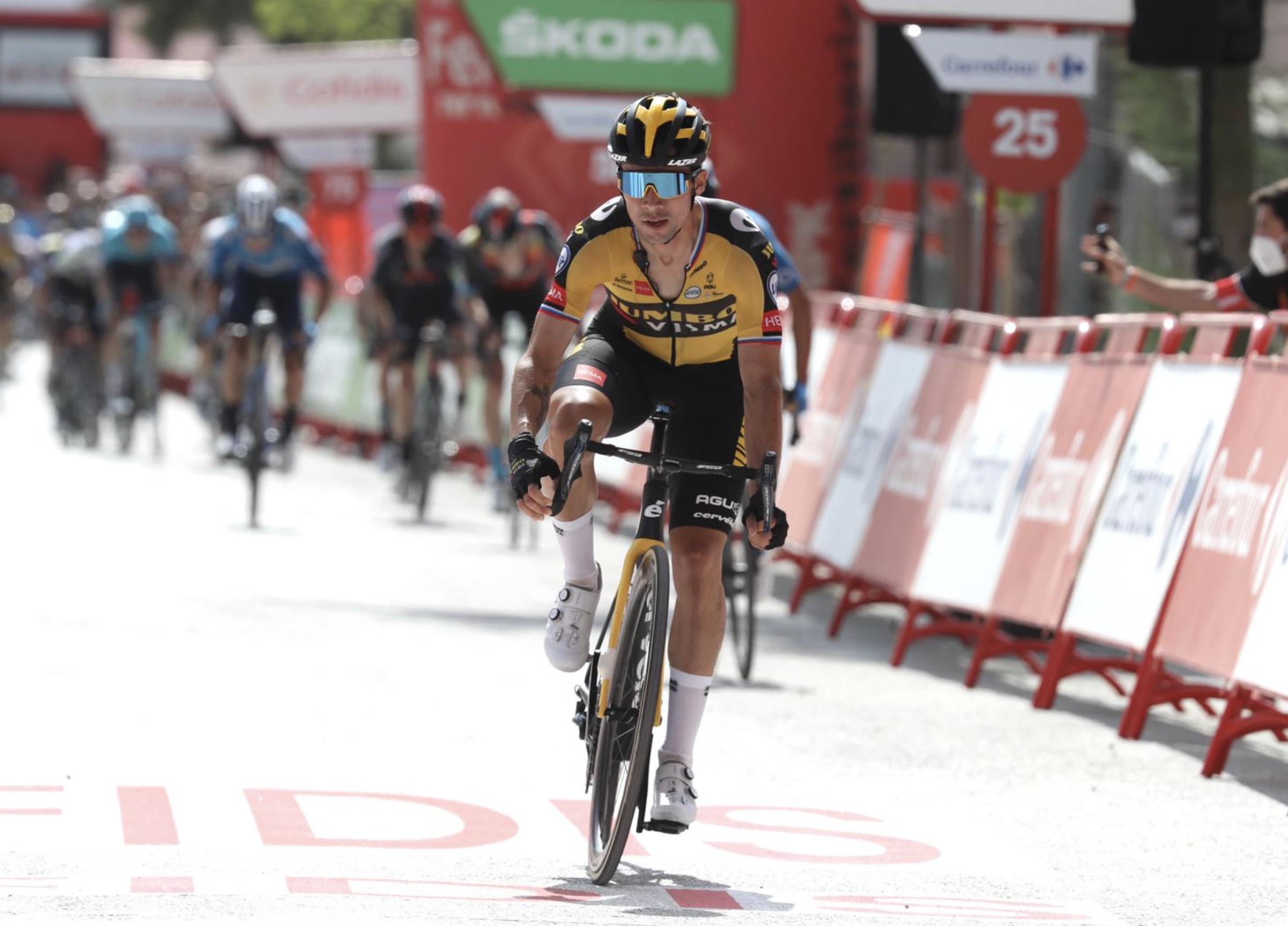 Vuelta 2021: Roglic vince l'11^ tappa